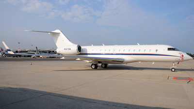 N667BB - Bombardier BD-700-1A11 Global 5000 - Private