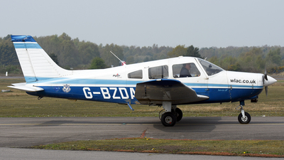 G-BZDA - Piper PA-28-161 Cherokee Warrior II - Private