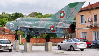 294 - Mikoyan-Gurevich MiG-21bis SAU Fishbed N - Bulgaria - Air Force