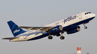 N509JB - Airbus A320-232 - jetBlue Airways