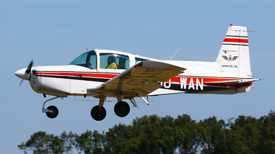 OO-WAN - Grumman American AA-5 Traveler - Kortrijk Flying Club