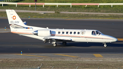 EC-GOV - Cessna 560 Citation Ultra - Gestair Private Jets