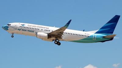 PK-GFK - Boeing 737-86N - Garuda Indonesia