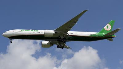B-16738 - Boeing 777-3ALER - Eva Air