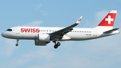A picture of HBJDB - Airbus A320271N - Swiss - © Stefan Bayer