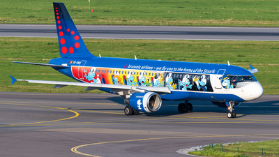 OO-SND - Airbus A320-214 - Brussels Airlines