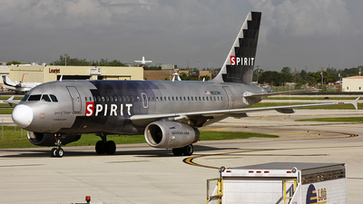 N523NK - Airbus A319-132 - Spirit Airlines