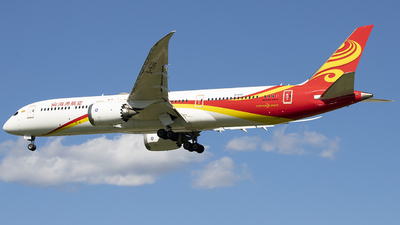 A picture of B1539 - Boeing 7879 Dreamliner - Hainan Airlines - © DS20020221