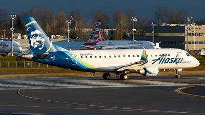 A picture of N646QX - Embraer E175LR - Alaska Airlines - © Nick Sheeder