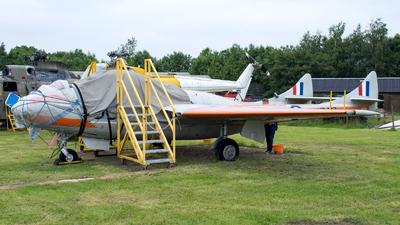 XD447 - De Havilland Vampire T.11 - United Kingdom - Royal Air Force (RAF)