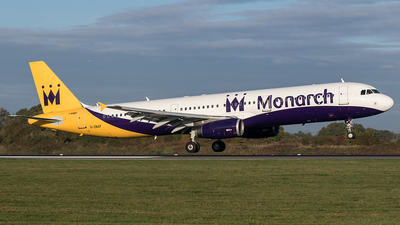 G-ZBAF - Airbus A321-231 - Monarch Airlines