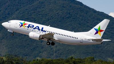 CC-ADZ - Boeing 737-3G7 - PAL - Principal Airlines