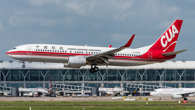 B-5183 - Boeing 737-8Q8 - China United Airlines