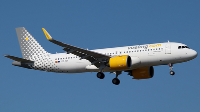 A picture of ECNIY - Airbus A320271N - Vueling - © Jorge Medina Mediavilla
