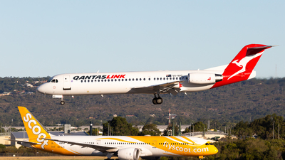 VH-NHG - Fokker 100 - QantasLink (Network Aviation)