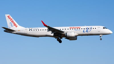EC-LLR - Embraer 190-200LR - Air Europa Express