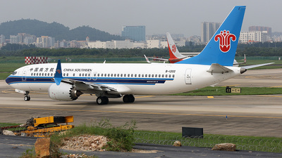 B-1202 - Boeing 737-8 MAX - China Southern Airlines