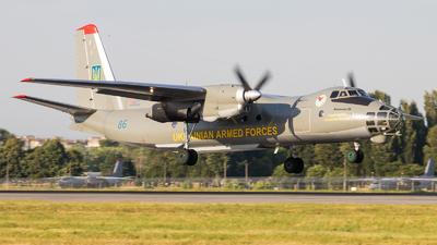86 - Antonov An-30 - Ukraine - Air Force