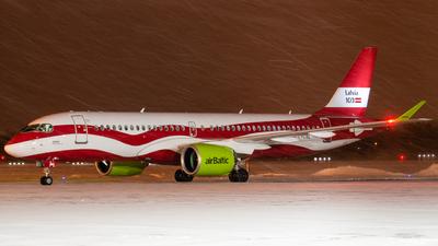 YL-CSL - Airbus A220-300 - Air Baltic