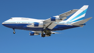VP-BLK - Boeing 747SP-31 - Las Vegas Sands Corporation