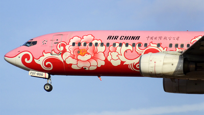 B-2642 - Boeing 737-89L - Air China