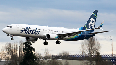 A picture of N224AK - Boeing 737990(ER) - Alaska Airlines - © Huy Do