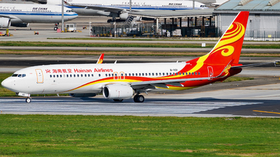 A picture of B1101 - Boeing 73784P - Hainan Airlines - © Miaomiao