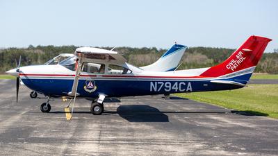 A picture of N794CA - Cessna 182T Skylane - Civil Air Patrol - © Jason Reina