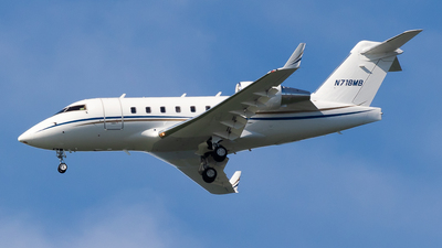 N718MB - Bombardier CL-600-2B16 Challenger 604 - Private