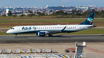 A picture of PRAXB - Embraer E195AR - Azul Linhas Aereas - © Lucas Batista   @pilotlucas