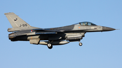 J-515 - General Dynamics F-16AM Fighting Falcon - Netherlands - Royal Air Force