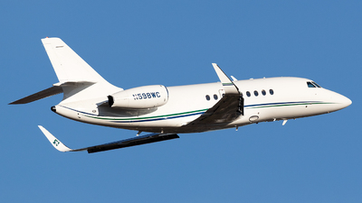 N598WC - Dassault Falcon 2000 - Private
