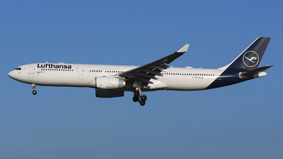 A picture of DAIKP - Airbus A330343 - Lufthansa - © Jens Brokuf