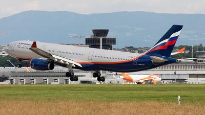 A picture of VPBDE - Airbus A330343 - Aeroflot - © Alexandre Fazan