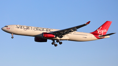 G-VGBR - Airbus A330-343 - Virgin Atlantic Airways