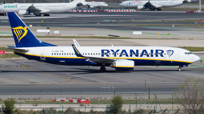 A picture of EIDWH - Boeing 7378AS - Ryanair - © Mateo León