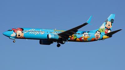 A picture of N318AS - Boeing 737990 - Alaska Airlines - © Jamie West