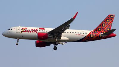 PK-LUT - Airbus A320-214 - Batik Air