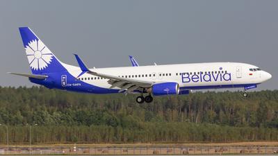 EW-544PA - Boeing 737-8K5 - Belavia Belarusian Airlines