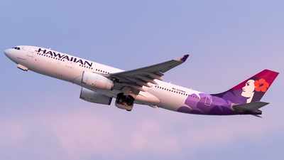 A picture of N399HA - Airbus A330243 - Hawaiian Airlines - © Ricky Teteris