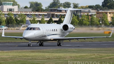 A picture of GLWDC - Bombardier CL601 Challenger - [3031] - © Martin Robson