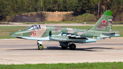 RF-95483 - Sukhoi Su-25SM Frogfoot - Russia - Air Force