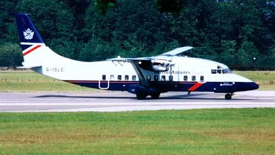 G-ISLE - Short 360-100 - Loganair