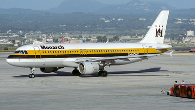 G-MONY - Airbus A320-212 - Monarch Airlines
