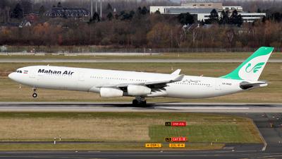EP-MMD - Airbus A340-313 - Mahan Air