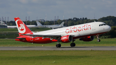 D-ABNV - Airbus A320-214 - Air Berlin