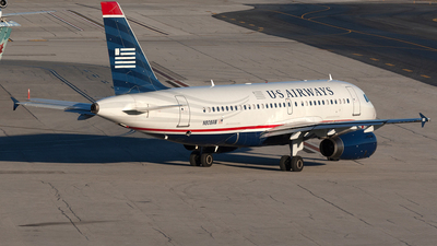 N808AW - Airbus A319-132 - US Airways