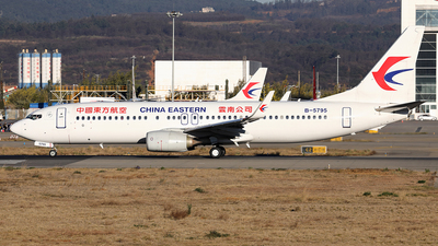 B-5795 - Boeing 737-89P - China Eastern Airlines