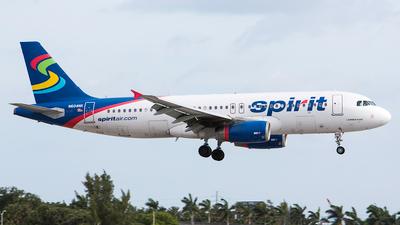 N604NK - Airbus A320-232 - Spirit Airlines