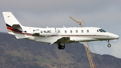 G-NJAC - Cessna 560XL Citation XLS - NetJets UK